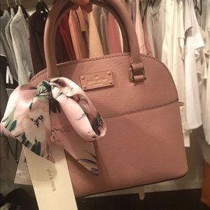 Kate Spade crossbody and scarf